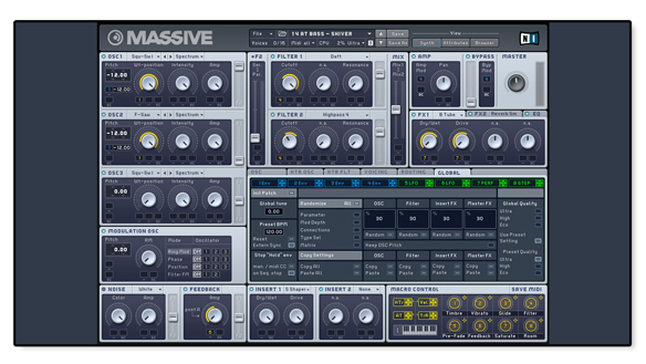 Audiotent Native Instruments Massive Presets VST AU