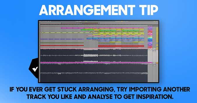 arrangement tip