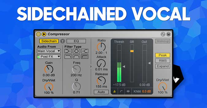 Sidechaining vocals - Audiotent