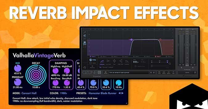 Reverb impact effect