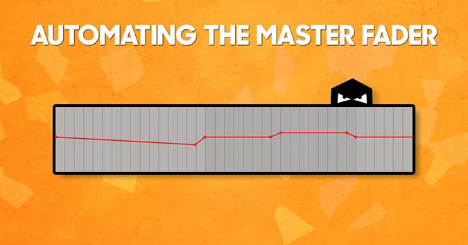 Automating the master fader