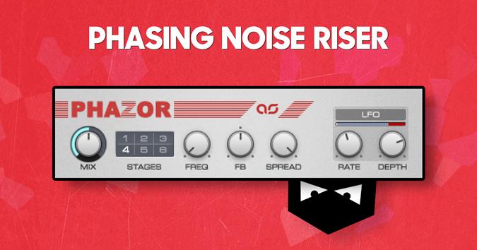 Phasing noise riser