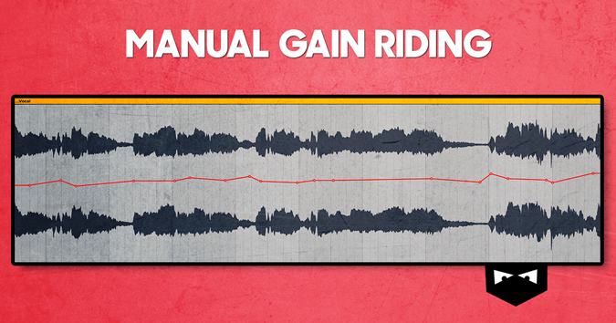 Manual gain riding