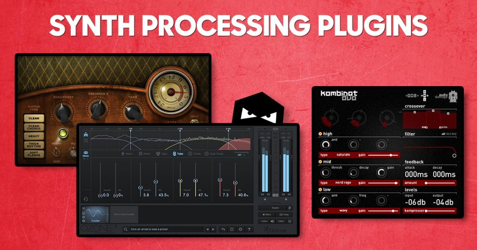 Three magic plugins that work great on synths!