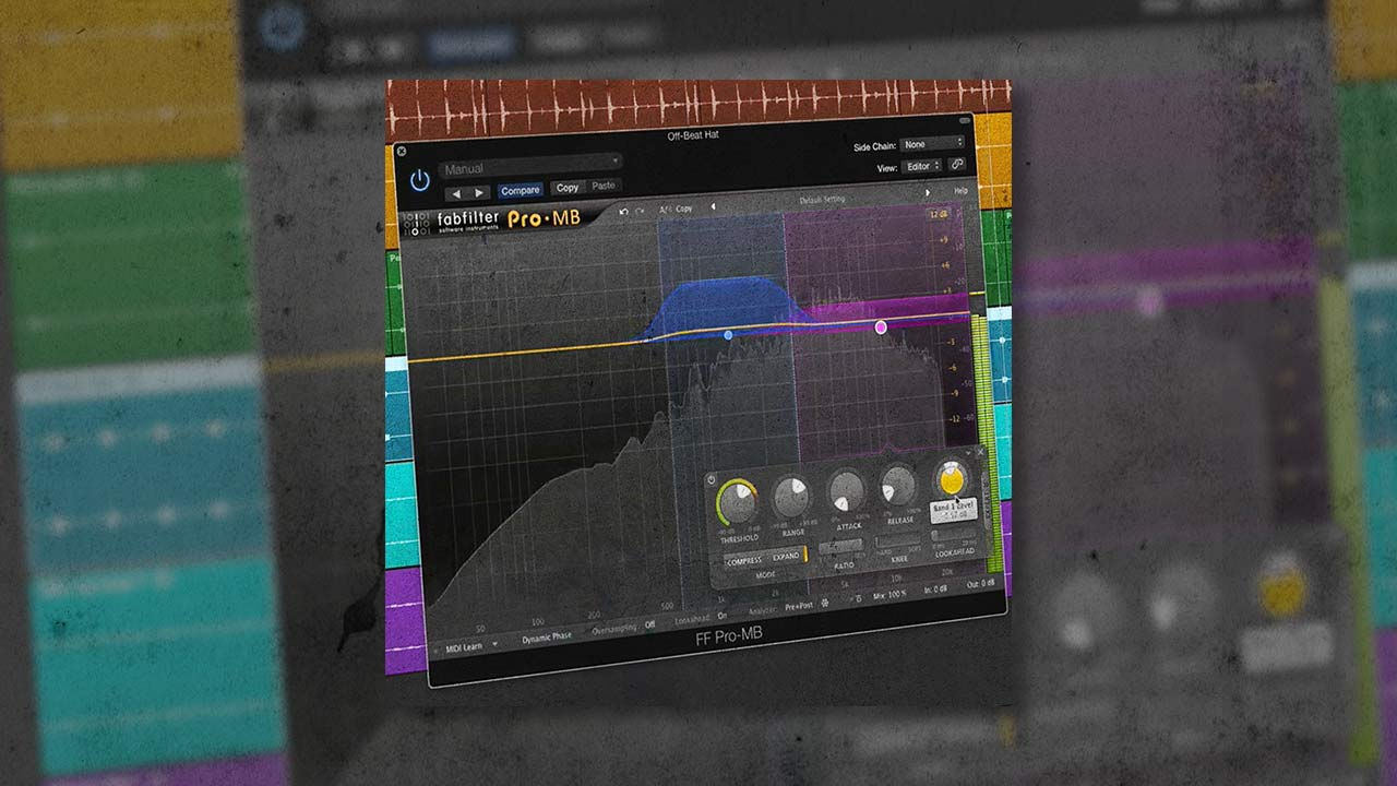 How to use multiband transient design