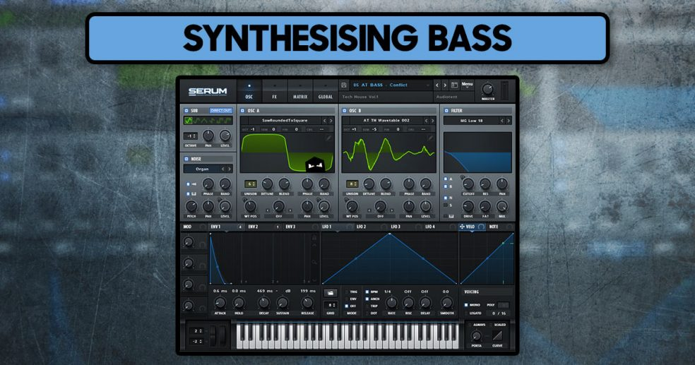 Synthesising Bass Sound Design Tips