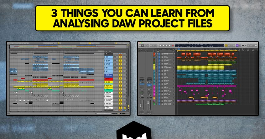 3 things to learn from ableton live logic pro x templates project 3 things you can learn when analysing daw project files maxwellsz