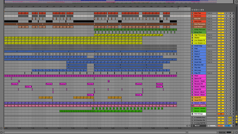 Ableton Live Template