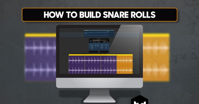 Building Snare Rolls for Electronic Music - Audiotent