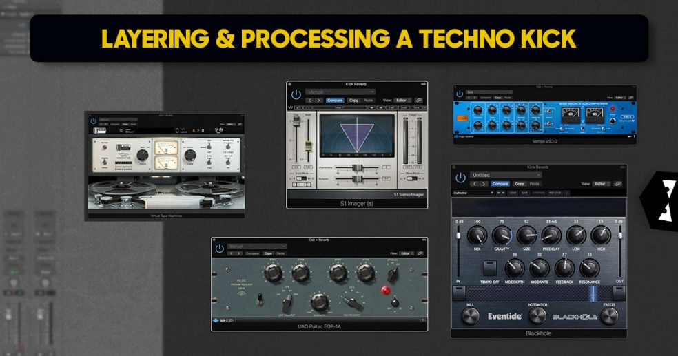 Layering and Processing a Techno Kick - Audiotent