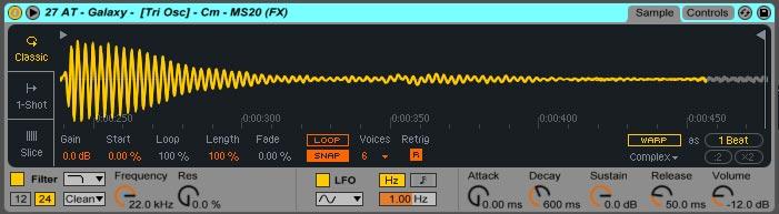 Using Melodic Loops Sampler