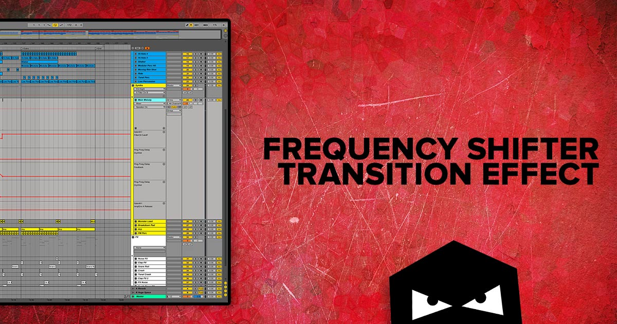 Frequency Shifter Transition Effect