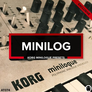 Korg Minilogue Presets & MIDI Files - Minilog Melodic Techno by