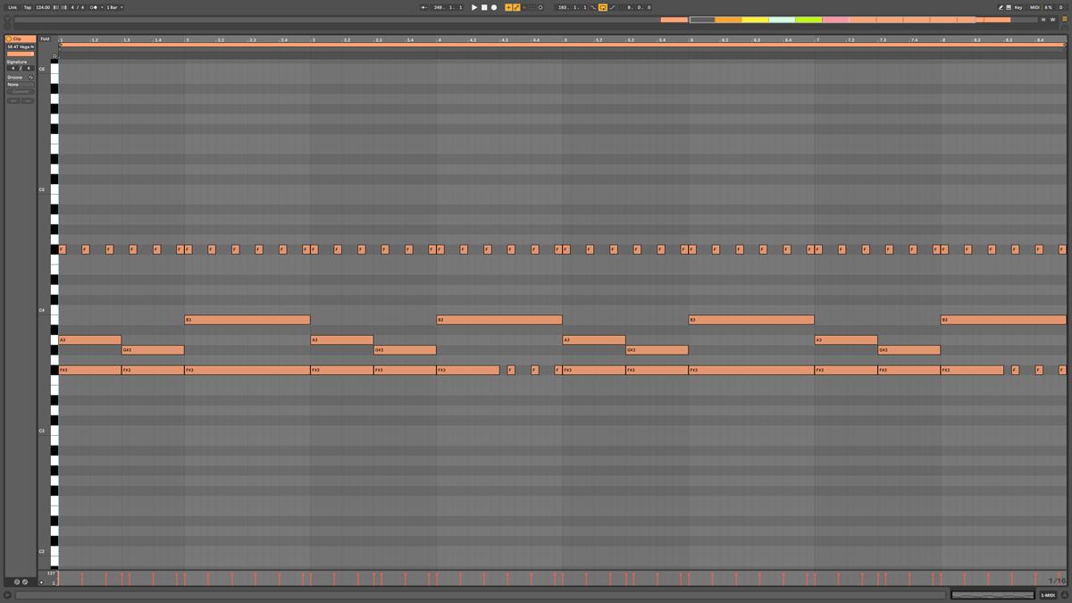 56 AT Vega Note MIDI - Neptune f#m