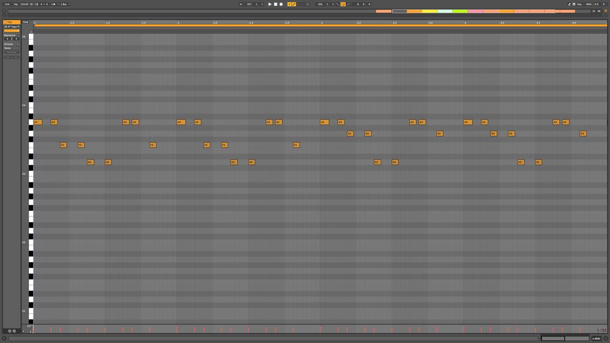 68 AT Vega Note MIDI - Planetoid f#m