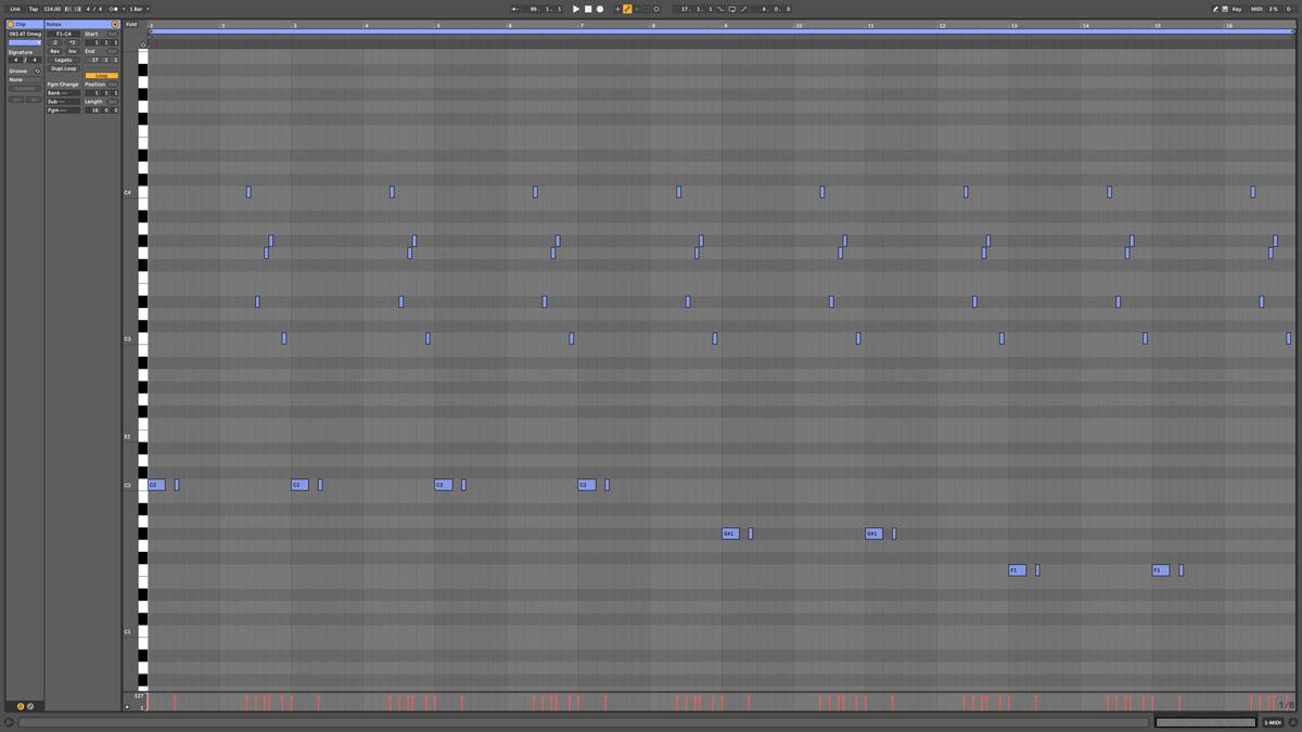 80 AT Vega Note MIDI - Ephemeris cm