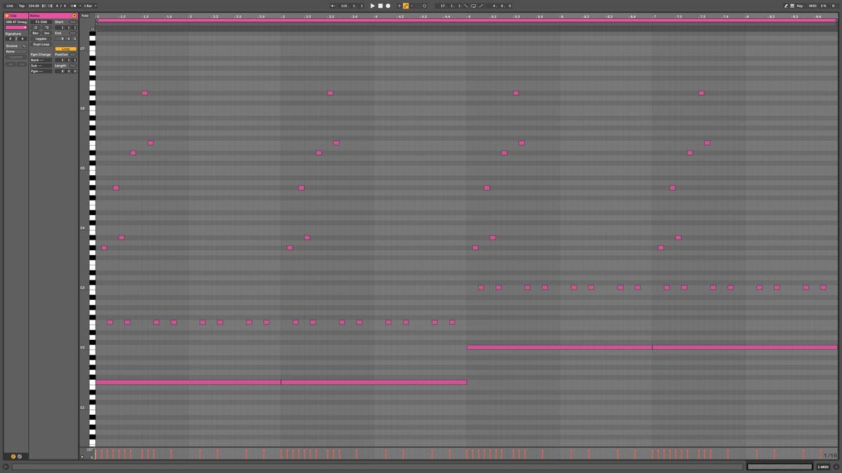 89 AT Vega Note MIDI - Earth d#m